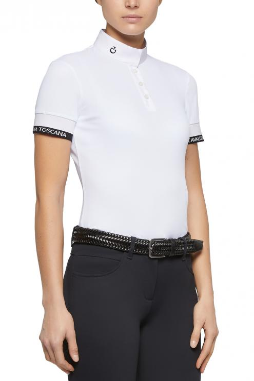Jersey Piquet S/S Competition Polo biała