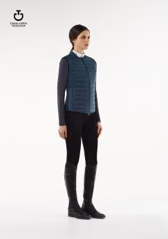 Nylon Quilted Body Warmer petrol